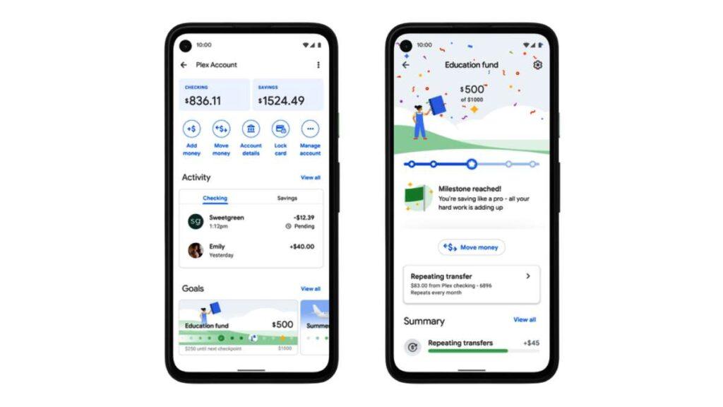 يتيح Google Pay إنشاء حساب مصرفي مباشرة
