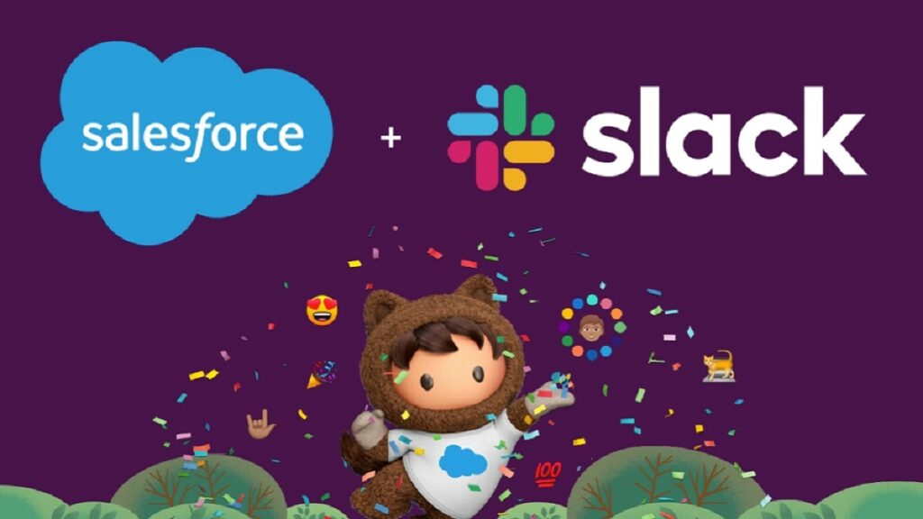 شركة Salesforce تستحوذ على سلاك Slack