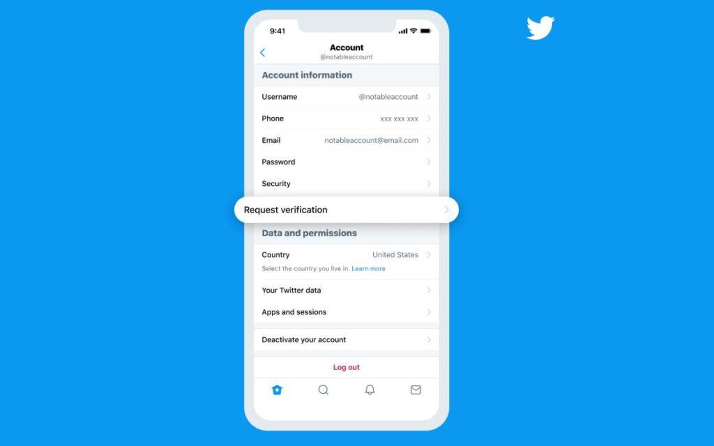 شروط توثيق الحسابات والحصول على علامة التحقق الزرقاء في تويتر