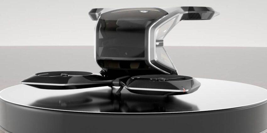 جنرال موتورز GM تكشف عن تصور سيارة كاديلاك طائرة