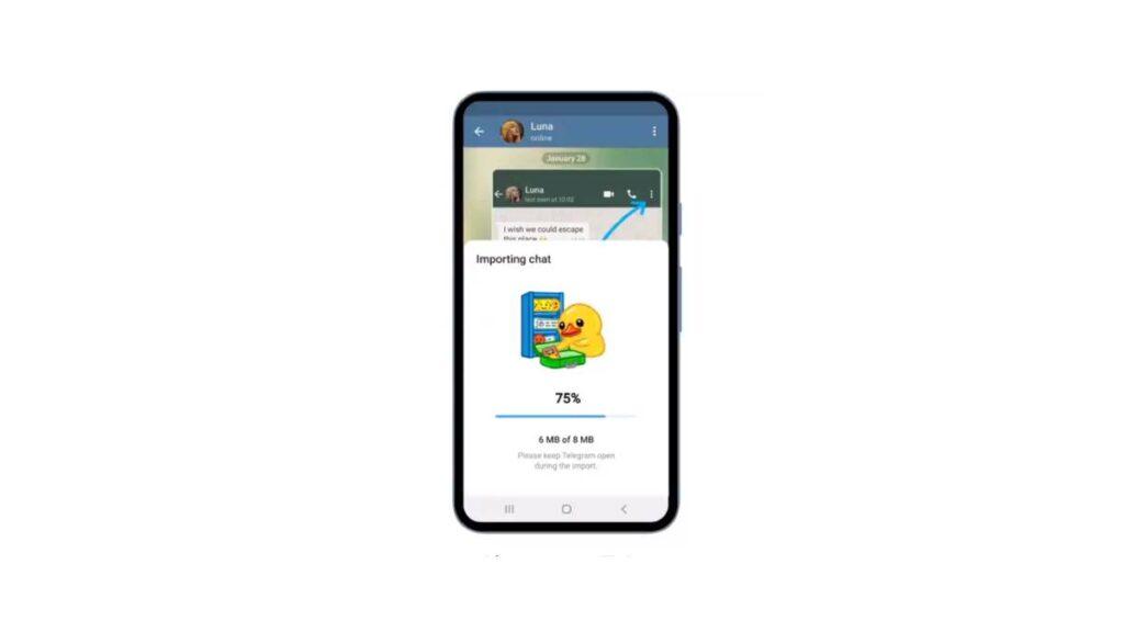 كيفية نقل المحادثات من واتساب إلى تليجرام