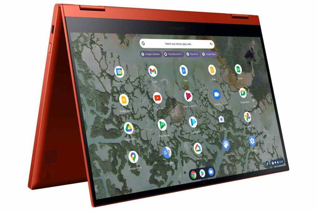 مميزات جهاز سامسونج Galaxy Chromebook 2