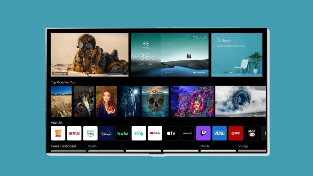 تدعم واجهة webOS 6.0 وريموت ماجيك الجديد التواصل صوتيا مع التلفزيون
