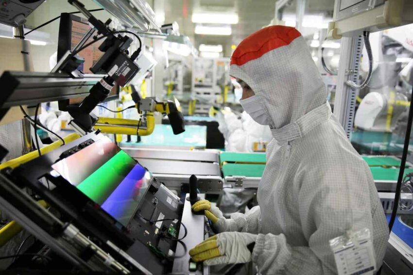 شركة Samsung Display تبدأ تصنيع شاشات OLED