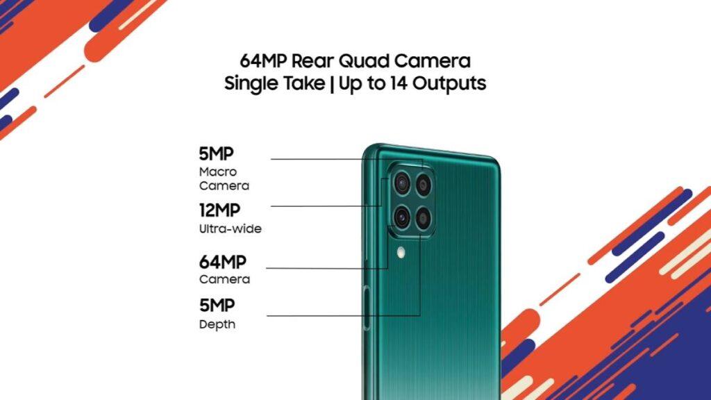 الكاميرات في هاتف سامسونج الجديد Galaxy F62