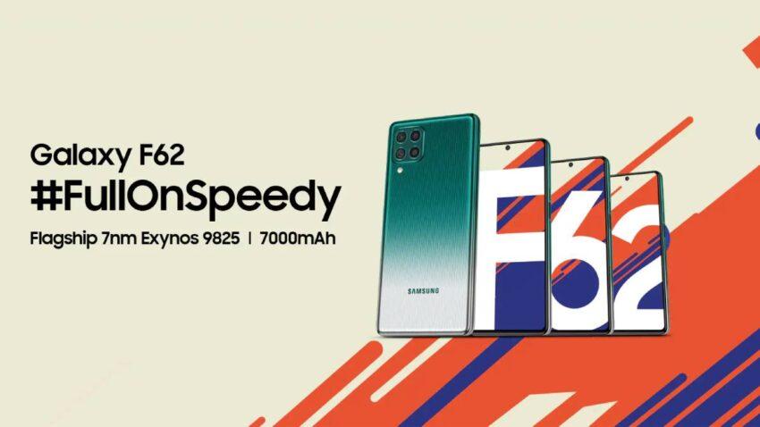 مواصفات وسعر هاتف سامسونج Galaxy F62