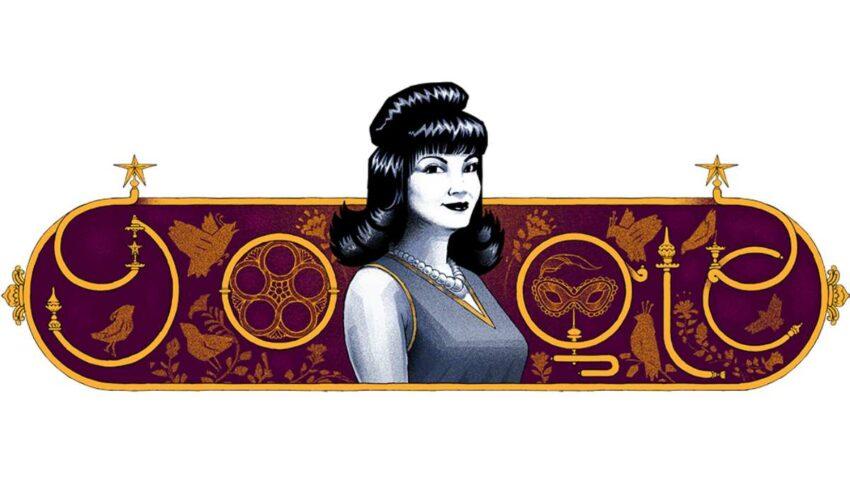 جوجل تحتفل بذكرى ميلاد الفنانة المصرية شادية