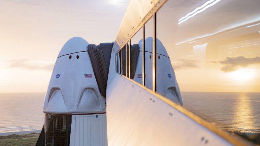 سبيس اكس SpaceX تعلن عن أول رحلة مدنية إلى الفضاء