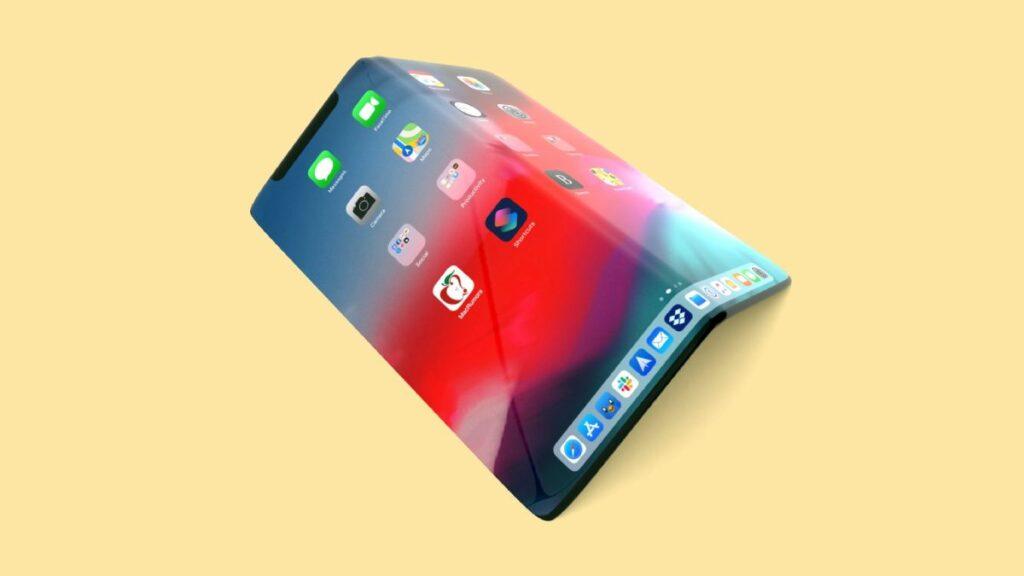 شركة آبل Apple تخطط لإطلاق هاتف ايفون قابل للطي