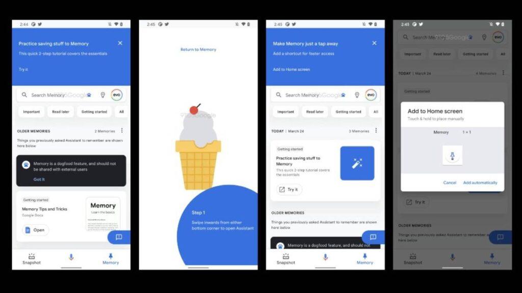 جوجل تختبر ميزة الذاكرة Memory في مساعدها الصوتي