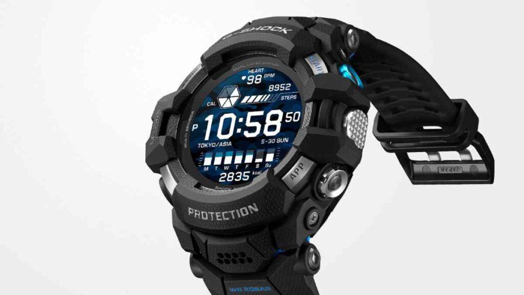تركز ساعة كاسيو الذكية Casio GSW-H1000 الجديدة على توفير بيانات شاملة عن الأنشطة الرياضية