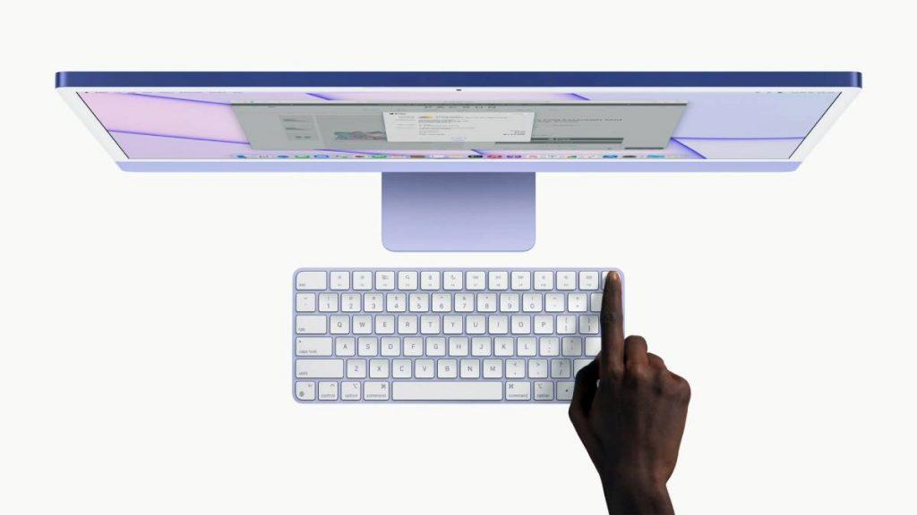 لوحة مفاتيح جديدة مزودة بمستشعر لبصمات الأصابع