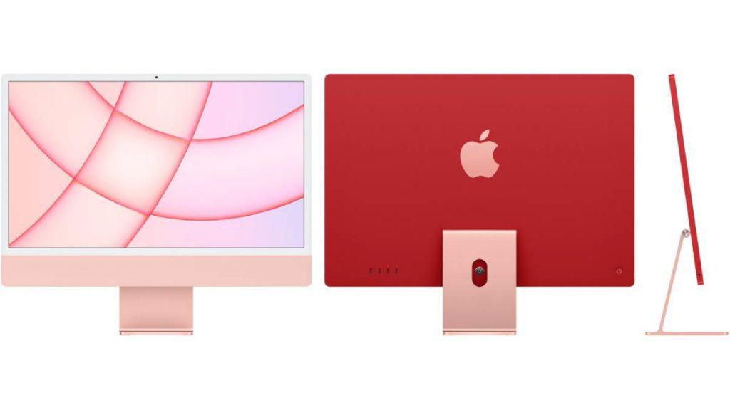 أعادت آبل تصميم جهاز آيماك iMac 2021 كليا