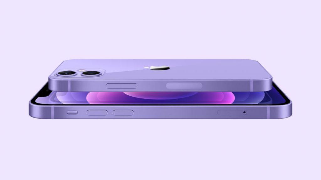 مميزات ايفون 12 باللون البنفسجي