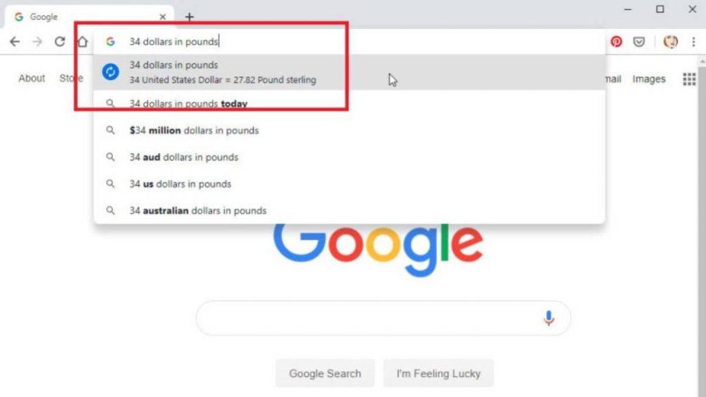 الاستفادة من مربع البحث