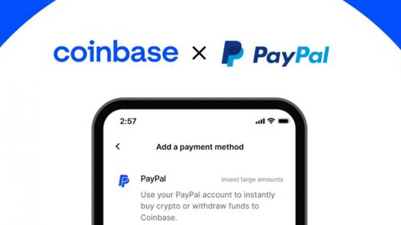 وفرت منصة Coinbase لتداول بيتكوين والعملات الرقمية للمستخدمين إمكانية استخدام حسابات PayPal