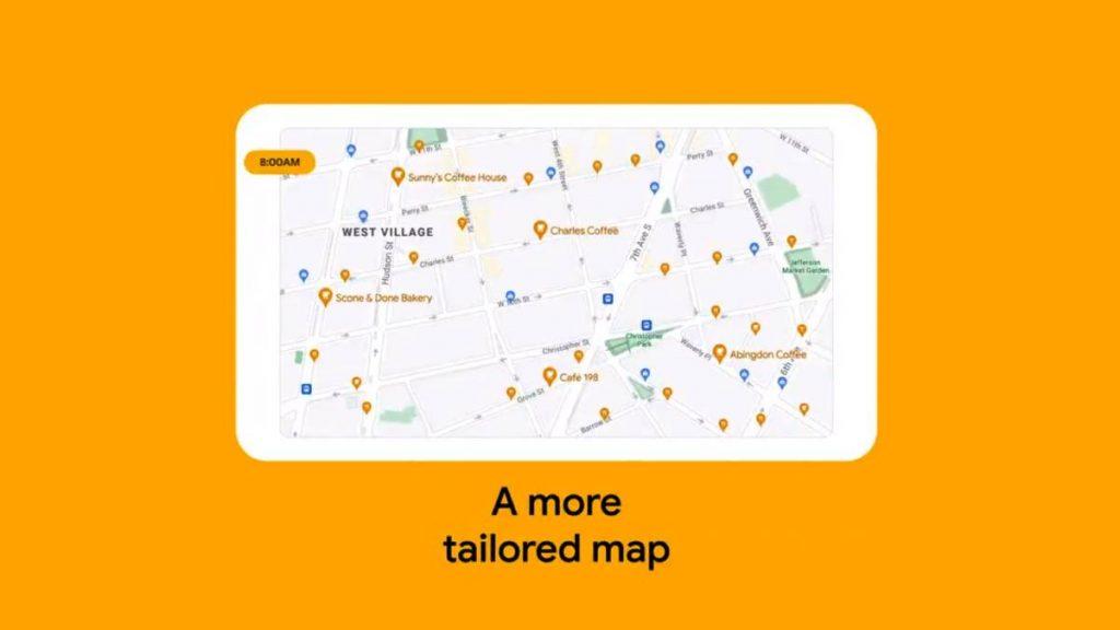 عرض الخرائط وفقا لما يناسب كل مستخدم