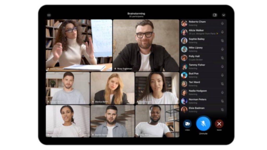 كيف تستخدم ميزة مكالمات الفيديو الجماعية في تليجرام