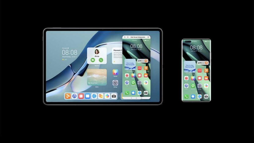 يتوفر التحديث لنظام هارموني HarmonyOS 2 أولا للهواتف الذكية الرائدة