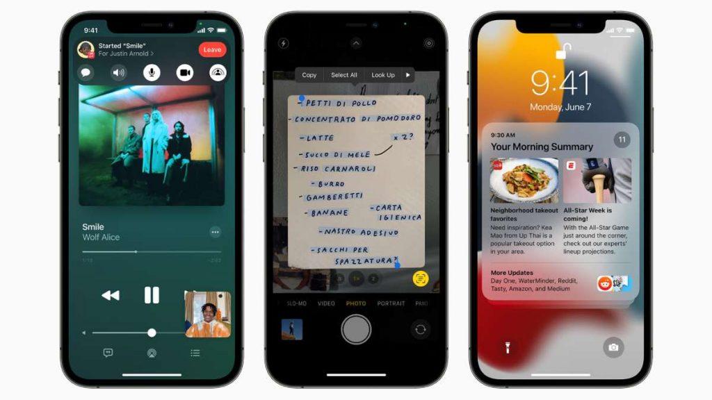 أفضل مميزات iOS 15
