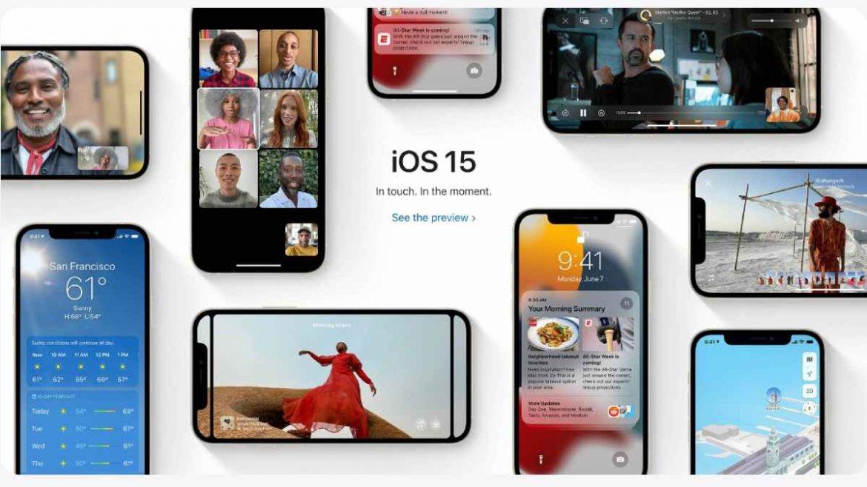 مميزات iOS 15 الجديدة