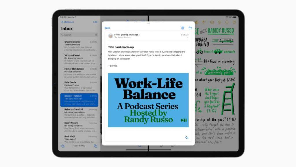 يسهل التحديث الجديد iPadOS 15 لمستخدمي آيباد العمل على تطبيقات متعددة في نفس الوقت