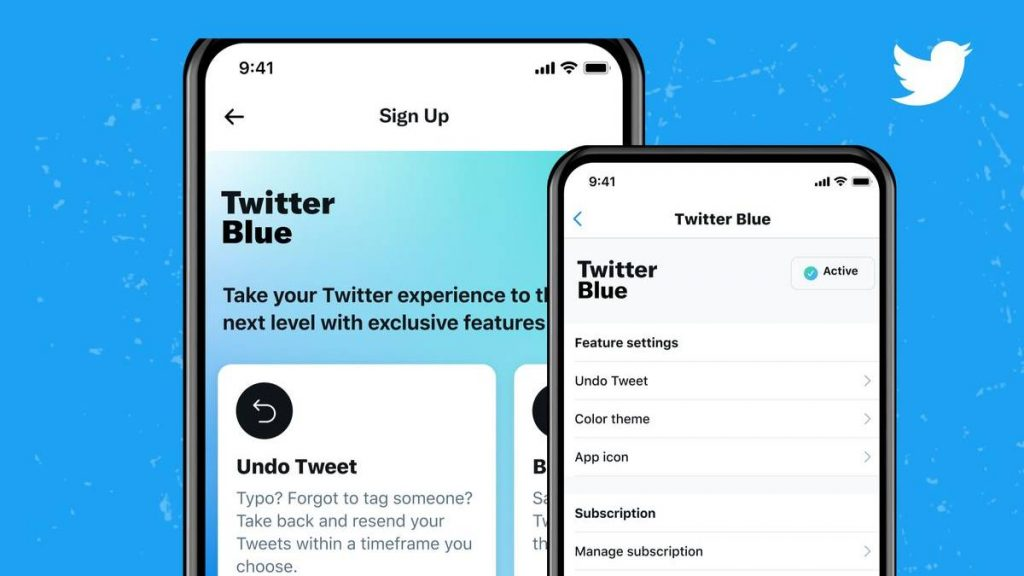 ما هي تويتر بلو Twitter Blue ؟