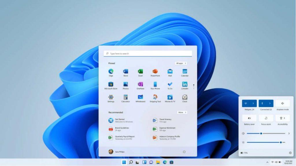 تحسينات كبيرة على الواجهة في Windows 11