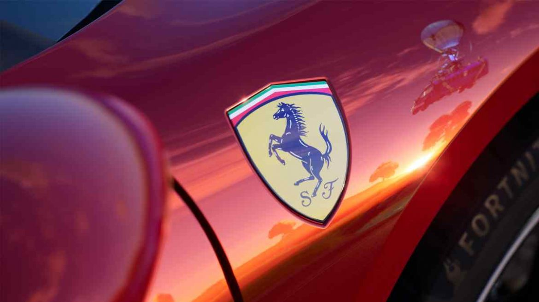 سيارة فيراري Ferrari في فورتنايت
