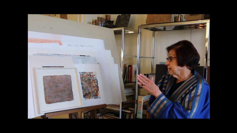 جوجل تحتفل بالفنانة الفلسطينية مليحة أفنان