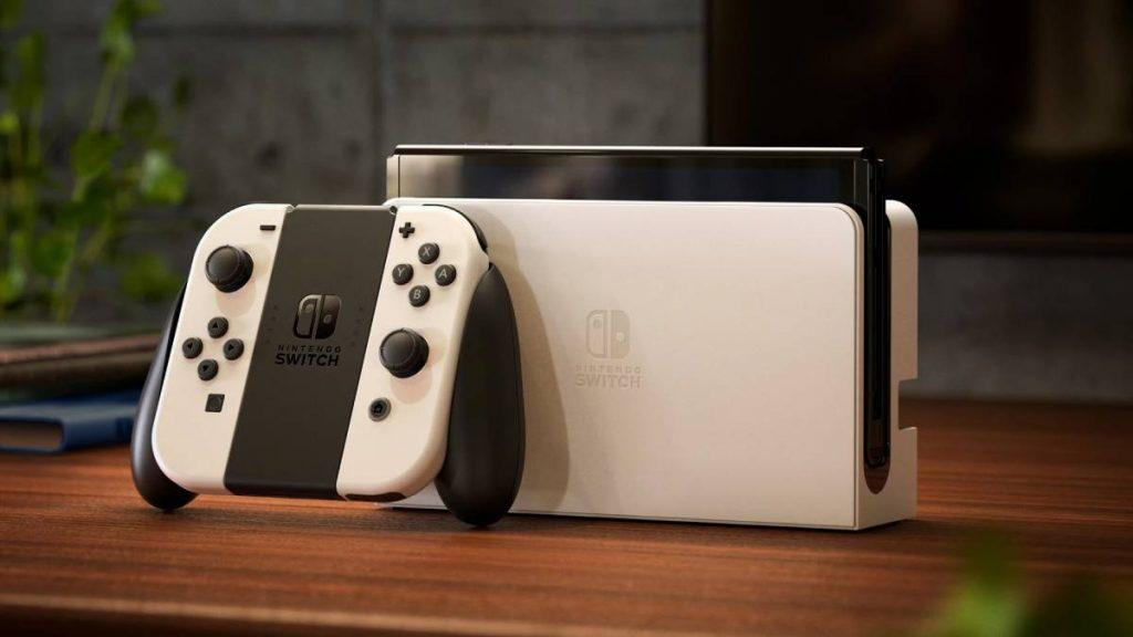 جهاز نينتندو للألعاب Nintendo Switch OLED model بشاشة أكبر