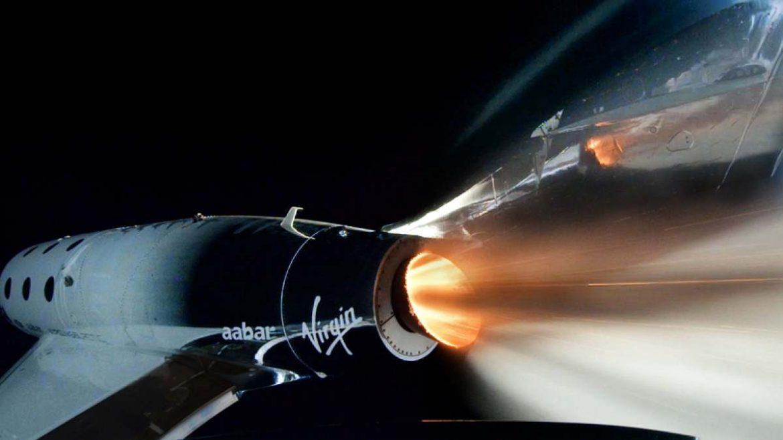 ريتشارد برانسون رحلة إلى الفضاء