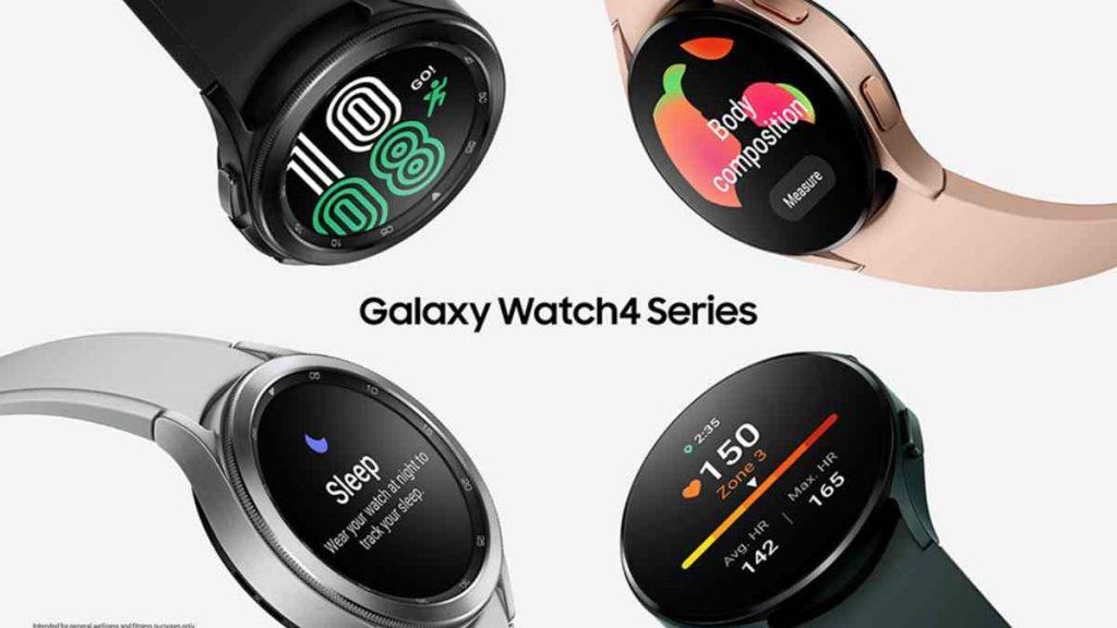 تصميم ة Galaxy Watch 4 جالاكسي ووتش 4 وGalaxy Watch 4 Classic
