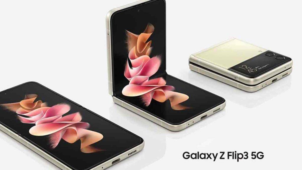 تصميم Galaxy Z Flip 3 5G