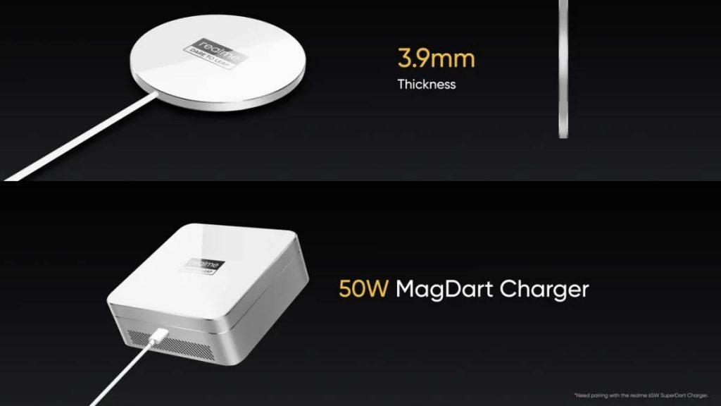 شواحن MagDart المغناطيسية من ريلمي
