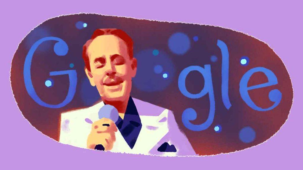 شعار جوجل الاحتفالي بالفنان اللبناني  ملحم بركات Melhem Barakat