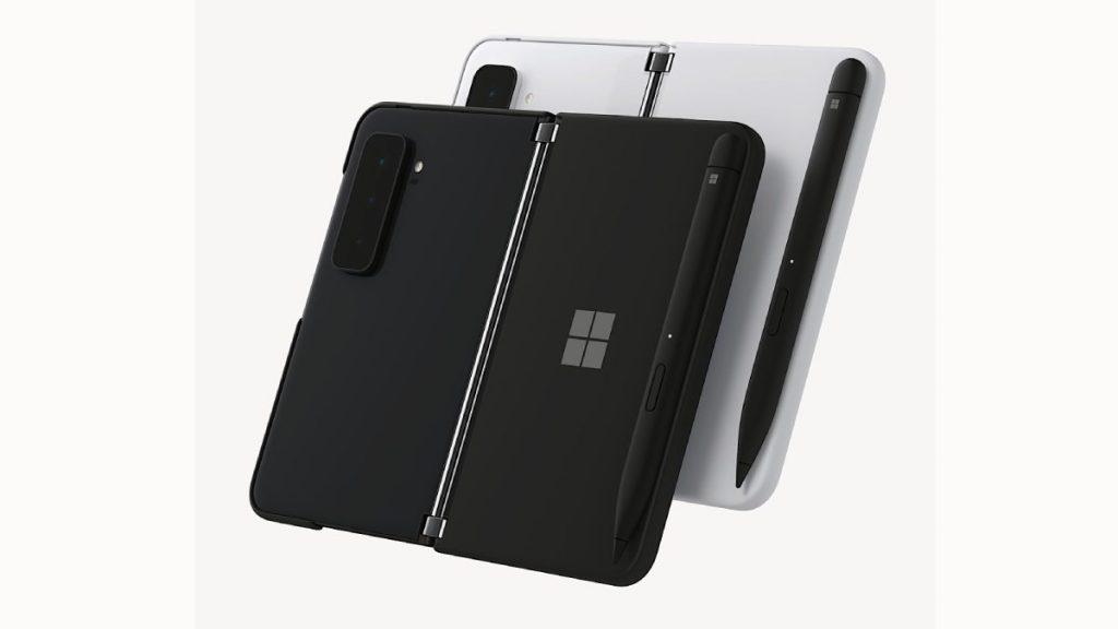 يدعم  Surface Duo 2 أقلام سيرفس الرقمية