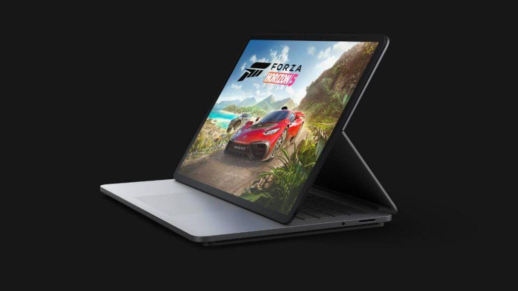 Surface Laptop Studio تصميم